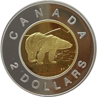 1998 Canada Two Dollar Silver Proof