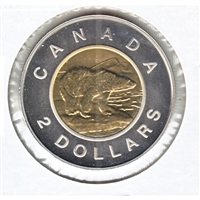 1999 Canada Polar Bear Two Dollar Specimen