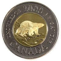 2000 Canada Knowledge Two Dollar Proof Like