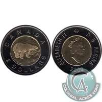 2000 Canada Polar Bear Two Dollar Proof Like