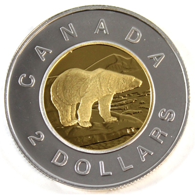 2000 Canada Two Dollar Silver Proof