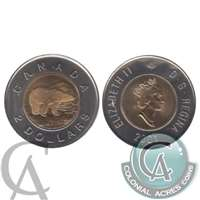 2001 Canada Two Dollar Brilliant Uncirculated (MS-63)