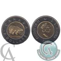 2001 Canada Two Dollar Proof Like