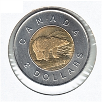 2003 Canada New Effigy Two Dollar Brilliant Uncirculated (MS-63)