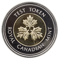 2004 Canada Test Token Two Dollar Proof Like