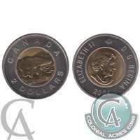 2004 Canada Two Dollar Specimen