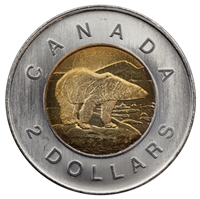 2005 Canada Two Dollar Brilliant Uncirculated (MS-63)