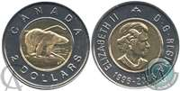 2006 Canada Double Date Two Dollar Proof Like (1996-2006)
