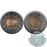2006 Canada Logo Single Date Two Dollar Brilliant Uncirculated (MS-63)