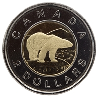 2007 Canada Two Dollar Proof Like