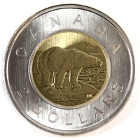 2009 Canada Two Dollar Specimen