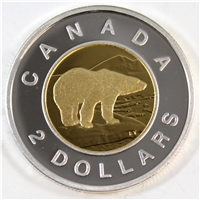 2010 Canada Two Dollar Silver Proof