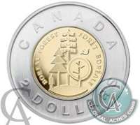 2011 Canada Boreal Forest Two Dollar Brilliant Uncirculated (MS-63)