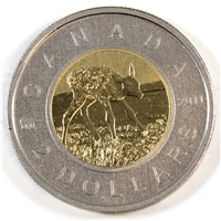 2011 Elk Canada Two Dollar Specimen