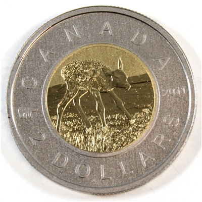 2011 Elk Canada Two Dollar Specimen $