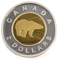 2011 Canada Two Dollar Silver Proof