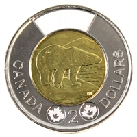 2012 Canada New Generation Two Dollar Brilliant Uncirculated (MS-63)