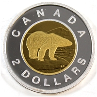 2012 Canada Two Dollar Silver Proof