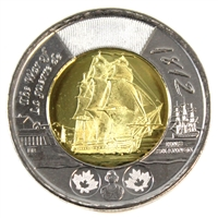 2012 Canada War of 1812 (Shannon) Two Dollar Brilliant UNC (MS-63)