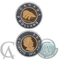 2013 Canada Two Dollar Silver Proof