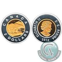 2014 Canada Two Dollar Silver Proof