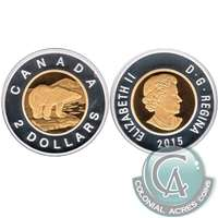 2015 Canada Two Dollar Silver Proof