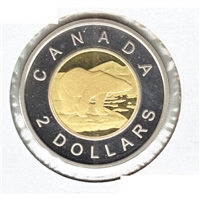 2016 Canada Two Dollar Proof (non-silver)
