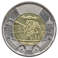 2016 Canada Two Dollar Battle of the Atlantic Brilliant Uncirculated (MS-63)