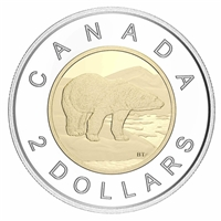 2020 Canada Two Dollar Silver Proof (No Tax)
