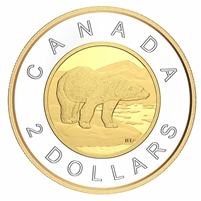 2021 Canada Two Dollar Silver Proof (No Tax)
