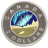 2017 Coloured Dance Canada Two Dollar Proof (Non-Silver)