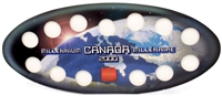 2000 Official RCM Empty Millennium Oval Map 25-Cents Holder
