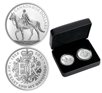 2021 Royal Celebration 2-coin Fine Silver Set (No Tax)