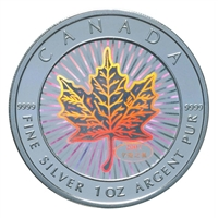 2001 Canada $5 Maple of Good Fortune $5 Fine Silver Coin (TAX Exempt)