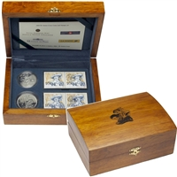 2004 Canada Ile Sainte-Croix Coin and Stamp Set