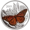 2005 Canada 50-Cent Butterfly - Monarch Sterling Silver (#3)