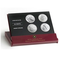 2005 Canada 50-cent Toronto Maple Leafs Hockey Legends Four Coin Set