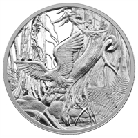 2005 Canada $20 National Parks - Pacific Rim National Park Fine Silver (TAX Exempt)