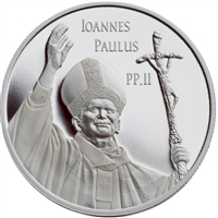 2005 Canada $10 Pope John Paul II Proof Silver Coin (Tax Exempt)