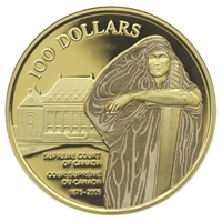 2005 Canada $100 130th Anniversary Supreme Court of Canada 14K Gold