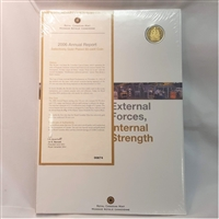2006 Canada RCM Annual Report with Gold Plated 50-cent