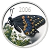 2006 Canada 50-cent Butterfly - Short Tailed Swallowtail Sterling Silver