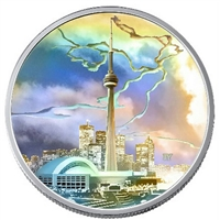 2006 Canada $20 Architectural Treasures - CN Tower (No Tax)