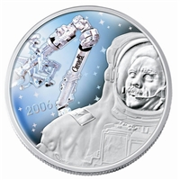 2006 $30 Canadarm & Colonel Hadfield Sterling Silver