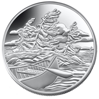 2006 $20 Georgian Bay Island National Park Fine Silver