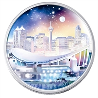 2006 Canada $20 Architectural Treasures Pengrowth Saddledome (No Tax)
