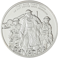 2006 Canada $30 National War Memorial Sterling Silver Coin