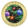 2007 Canada 50-cent Holiday Ornaments Lenticular Coin