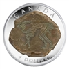 2007 Canada $4 Dinosaur Collection - Parasaurolophus (#1) No Tax