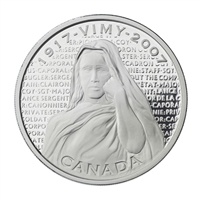2007 Canada $30 National War Memorials - Vimy Ridge Memorial